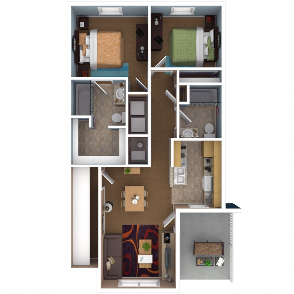 Apartments In Indianapolis | Floor Plans